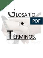 Glosario de Términos SEMIOLÓGICOS