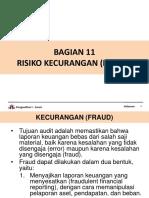 BAGIAN 11 - RISIKO KECURANGAN.pptx