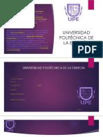 Presentación UPE
