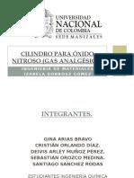 Cilindro Para Óxido Nitroso Gas Analgésico (1)