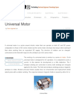 What is Universal Motor_ What Are the Best Speed Controlling Ways