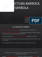 Arquitectura Barroca Española