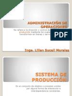 Administración de Operaciones Clase 3