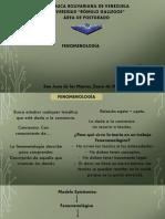 Presentación FENOMENOLOGIA