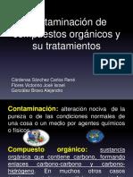 Contaminación de Compuestos Orgánicos Y Sus Tratamientos.