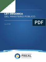 Ley 27148 Ley Orgánica Del MPF