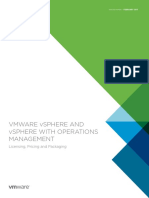 Vmware Vsphere Vsom Pricing Whitepaper