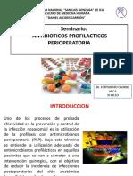 Antibiótico profilaxis (Diapos)