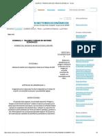 Eligros y Riesgos en Sectores Económicos - Tareas