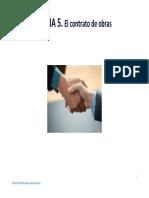 TEMA 5. EL CONTRATO DE OBRA (1).pdf