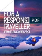 TIPS FOR A RESPONSIBLE TRAVELER