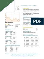 Market Update 17th August 2017