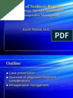 Ortho - Scoliosis Talk