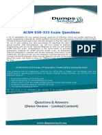 ACSM Certified Clinical Exercise Physiologist 030-333 ACCEP Exam Dumps