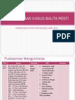 Pembahasan Kasus Balita Resti WANGUN HARJA MEI 2016.pptx