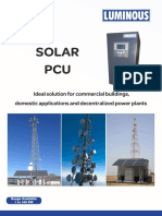 Bi-directional Solar Inverter Catalogue