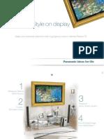 Matt Zwier - Panasonic - Plasma Masterpiece Brochure