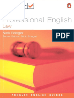 Professional English Law