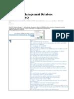LMDB-Landscape Management Database