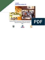 Buku Saku Kader Program Penanggulangan TB