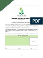 AVS- Application Form (Professionals)