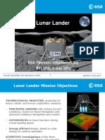 ESA Lunar Lander Presentation