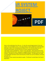 Science Solar System Project