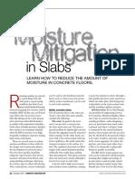 Moisture Mitagation