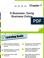 OB 34 Ch07itb E Business Doing Business Online