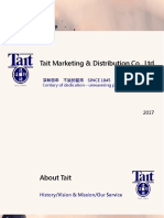 Tait Taiwan Introduciton 2017