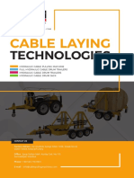 Cable Pulling Machines & Cable Drum Trailers Catalogue