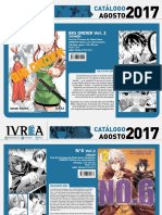 Novedades Ivrea Agosto 2017