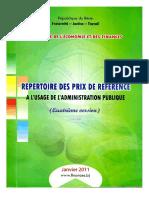 Repertoire Des Prix Version4 2