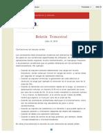Boletín Trimestral TEAP Julio 2014