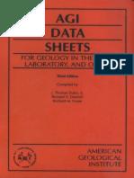 AGI Data Sheets