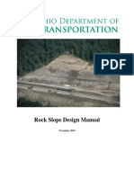 Rock Slope Design Manual