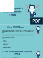 IIT JAM Exam Queries – Frequently Asked Questions!