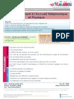 Perfectionnement à l'Accueil Téléphonique Et Physique - IfE Formation 2016
