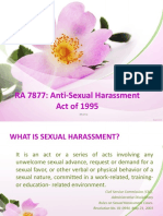 Sexual Harrasment Law