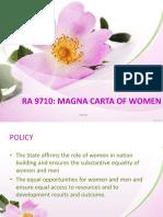 RA 9710 Magna Carta for Women