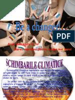 Schimbarile climatice
