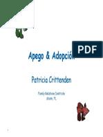 Crittenden-Apego y Adopcion