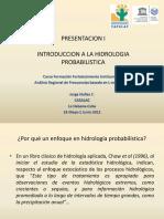 Pp1-Introduccion a La Hidrologia Probabilistica