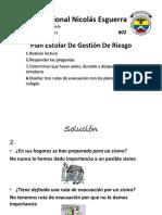 Colegio Nacional Nicolás Esguerra Evacuacion4