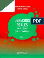 Derechos Reales. Mariani de Vidal - Abella. Tomo I