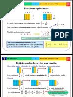 Las Fracciones2 Equivalente