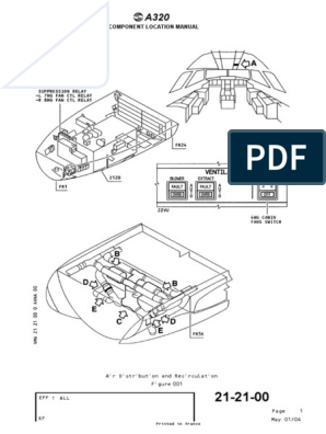 A320 Components Location Manual | Electrical Engineering ... on