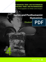 Butterfield, Elisabeth C.; Sartre, Jean-Paul Sartre and Posthumanist Humanism