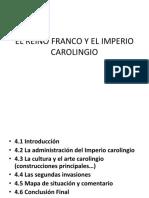 El Reino Franco y El Imperio Carolingio