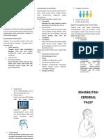 Leaflet Cerebral Palsy
